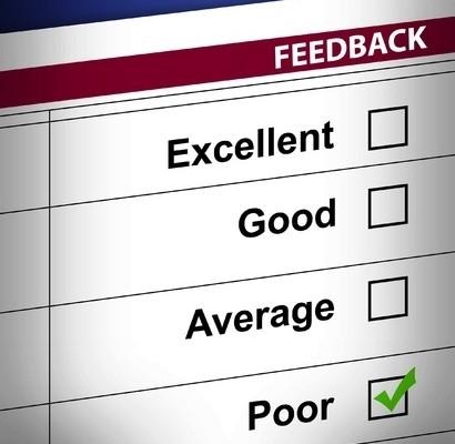 poor feedback