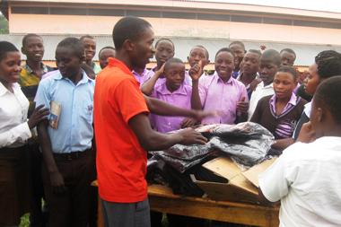 PODA students in Uganda