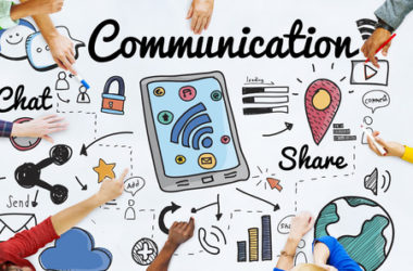 53755187 - communication connection social network concept